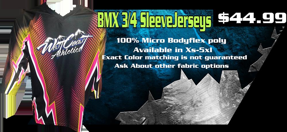 bmx 3 quarter sleeve ad