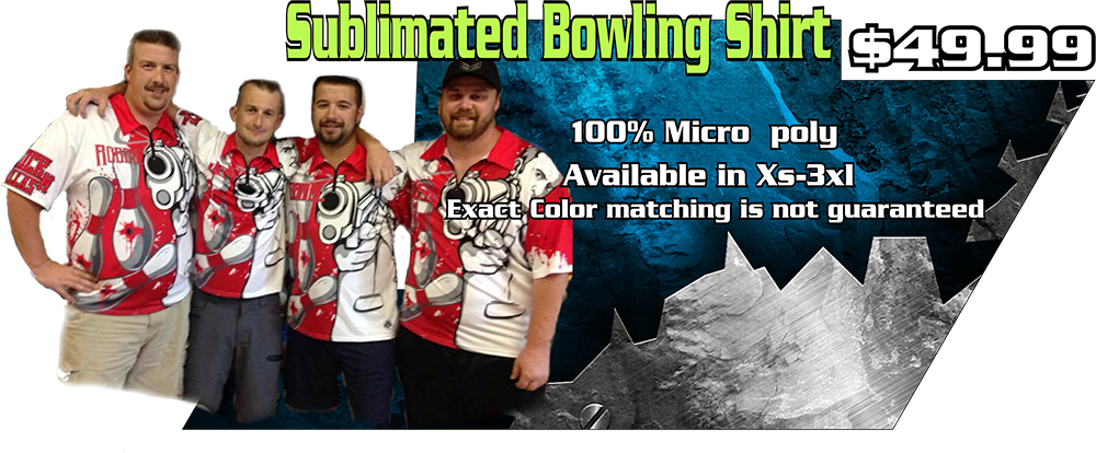 sublimated bowling shirt